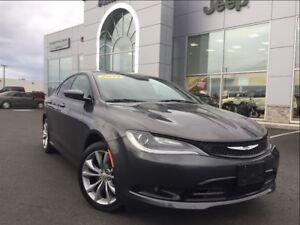 2015 Chrysler 200 S EXT. WARRANTY, LEATHER TRIM, ONLY $87* B/W