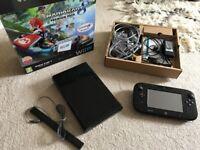 Nintendo wii U black console brand new
