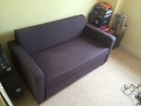 IKEA dark grey sofabed