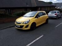 Corsa Limited edition 12 month MOT low mileage