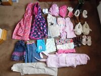 Bundle of girls Clothes 4-5 years of age 80+ Items
