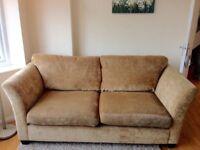 Lovely John Lewis 3 Seater beige sofa