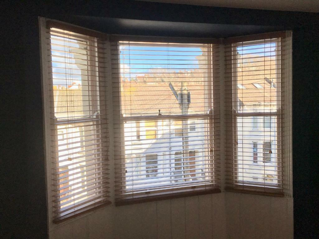 Wooden Venetian Blinds For Bay Window In Brighton East
