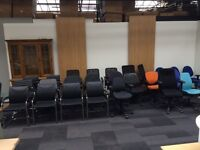 Huge Clearance & Used Office Furniture Closing Down Sale! Desks, Meeting Tables, Reception Desks