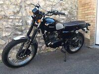 SOLD - Sinnis Scrambler 125cc learner legal motorbike 2016