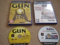2 x PlayStation2 games - Toca Race Driver 2/Gun