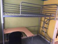 Bunk Bed with Desk!