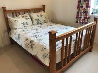Habitat Pine Double Bed