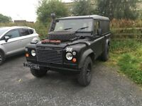 EX MILITARY OP RESOLUTE LANDROVER 110 2.5 diesel na