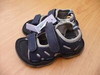 New Boy's Navy sandals Red Herring in size 7/24.
