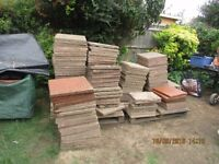 40 garden patio slabs .