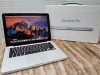 "Apple MacBook Pro 13"" - Core i7 - 8 gb ram - SSD - Boxed"