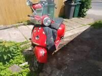 vespa 250 gts scooter.