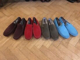 "Men's ""Fins"" suede loafers"