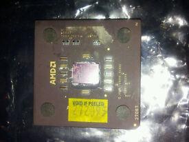 AMD Duron - 1.1 GHz Single-Core (DHD1100AMT1B) Processor