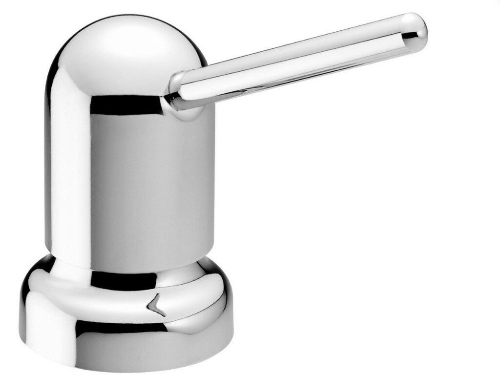 Basin Or Countertop Mounted Liquid Soap Dispenser By Damixa Chrome Unused Undamaged Bathroom Kitchen