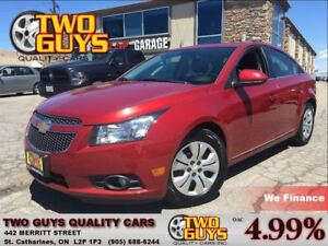 2013 Chevrolet Cruze LT Turbo MOON ROOF CRUISE CONTROL
