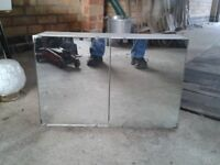 Bathroom Cabinet/Storage Box Stool/Mirrors
