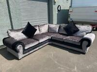 Brand new Chesterfield alike corner sofa delivery 🚚 sofa suite couch furniture