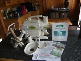 Green Life juice extractor. Twin Gear.