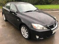 GREAT Value 2007 57 Lexus i220D SE Full Screen NAV Full Leather Upholestry 10 Service Stamps May MOT