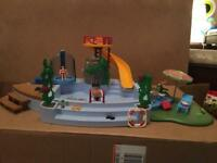 Playmobil swimming pool!