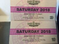 Two Goodwood revival tickets - Sat 8th September