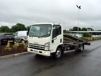 Isuzu 2 car transporter