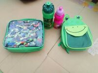 Children's lunch boxes. Including Turtles