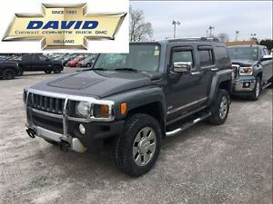 2008 Hummer H3 H3X ALPHA, 5.3L, LEATHER, SUNROOF, LOCAL TRADE!!!