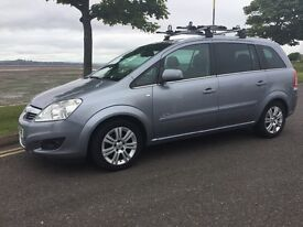 Vauxhall Zafira 1.8i 16v Elite 2010. FULL LEATHER INTERIOR