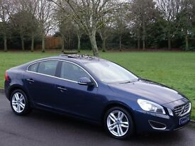2011 Volvo S60 2.0 D3 SE Lux 4dr (start/stop) - FULL HEATED LEATHER - NAV - BLUETOOTH - SUNROOF