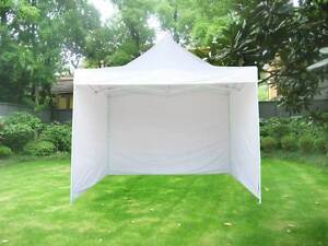 ON SALE - 3x3m Popup Gazebo Party Tent Marquee -White Melbourne CBD Melbourne City Preview