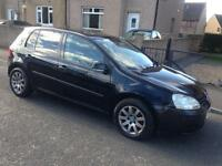 Volkswagen Golf mk5 2.0 SDI Diesel 1 year MOT may px swap merc BMW Audi replica