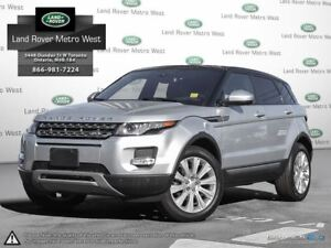 2015 Land Rover Range Rover Evoque 2.9% TO 72MONTHS, WTY TO 160,