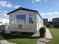 NEW 2016 Swift Snowdonia 35ft x 12ft 2 Bedroom Static Caravan Holiday Home Sited on Seashells, Towyn