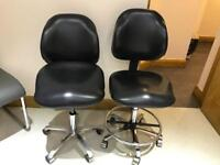 2 dental nurse chairs