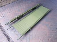 US Army Stretcher Folding Bed Camping Festival
