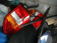 VAUXHALL ZAFIRA 2003 , SET REARLIGHTS O/S AND N/S, £10 EACH ,WIPER ARMS/BLADES FRONT AND BACK £15