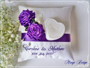 Almohada-Cojin-De-Anillo-de-boda-bordado-personalizado