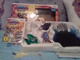 Skylander superchargers racing game for the Wii one skylander missing great game ..........