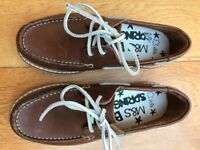 New boys leather shoes size 3