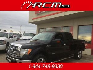 2014 Ford F-150 SuperCrew XLT 4x4 Crew Cab Truck ECOBOOST ***