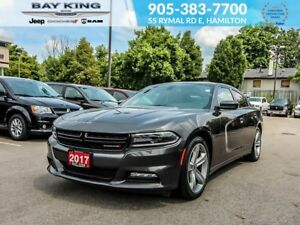 2017 Dodge Charger SXT PLUS, SUNROOF, BACKUP CAM, BLUETOOTH