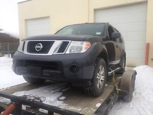 2010 Nissan Pathfinder for sale As Is(written off)