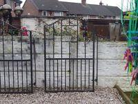 Wrought iron gate / Garden gate / Metal gate / Steel gate / Driveway / House gate / Side gate