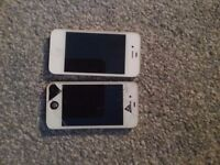 2 iphone 4s for sale. £70