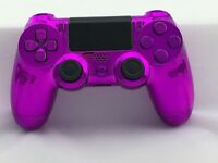 HawkEye Themed Official Sony PS4 Wireless Dualshock 4 Custom Controller Gamepad Shell Modded Pink
