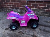 Girls toy quad