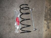 peugeot 206 front coil spring and anty role drop link new 25pounds